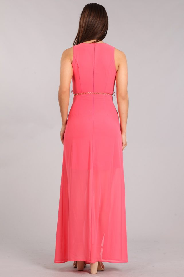 DD-coral dress B