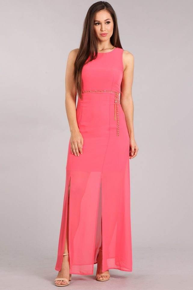 DD-coral dress F
