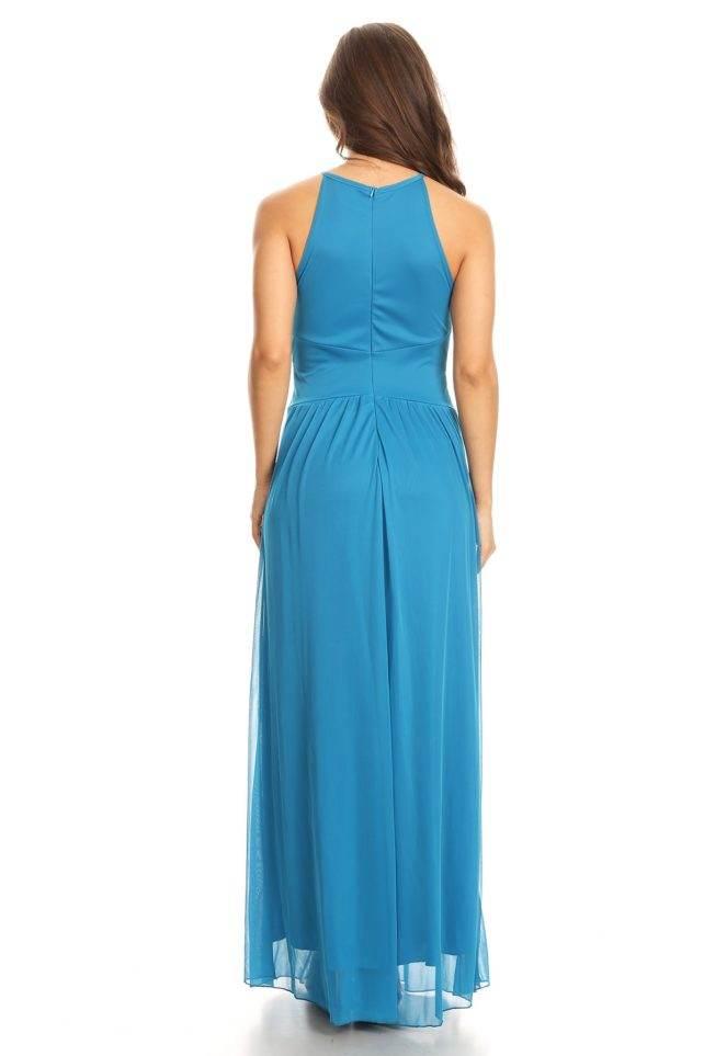DD-halter dress B