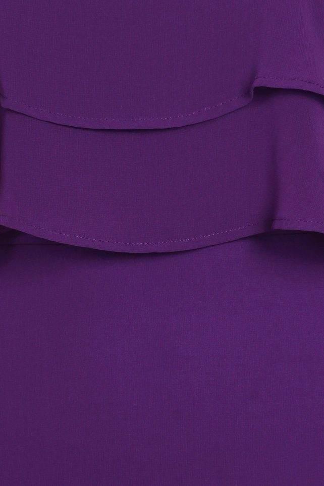 DD-purple ruffle detail