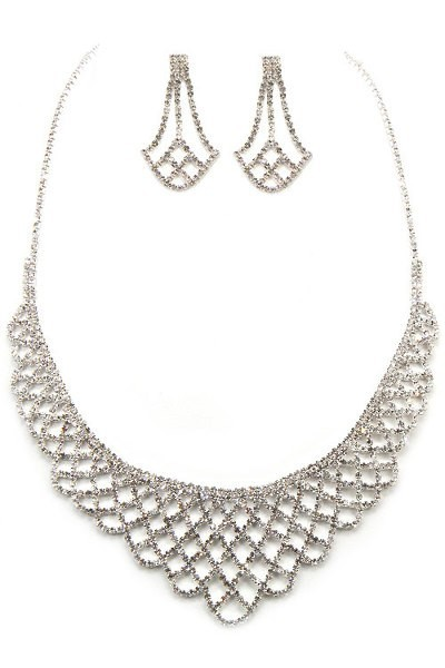 collar crystal set(35)