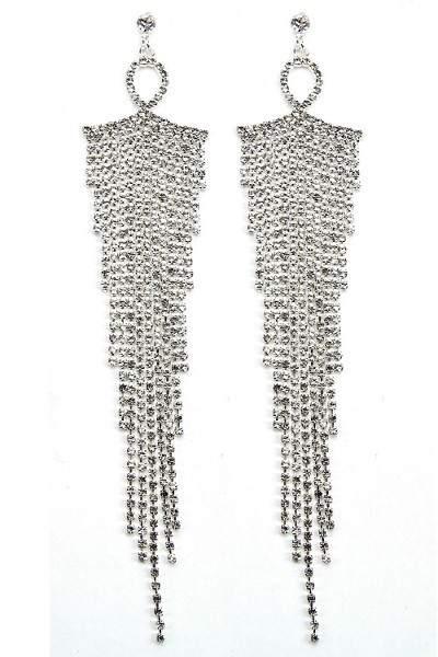 drape earring SL(22)