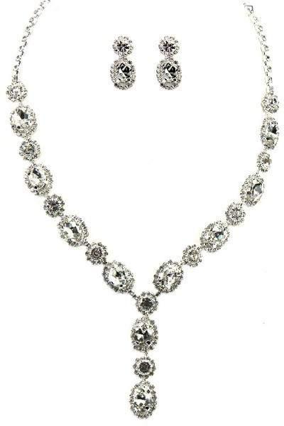 oval gem set(42)