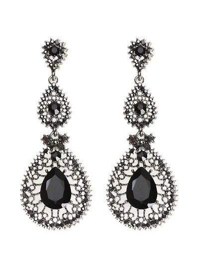 queen drop earring B(16)