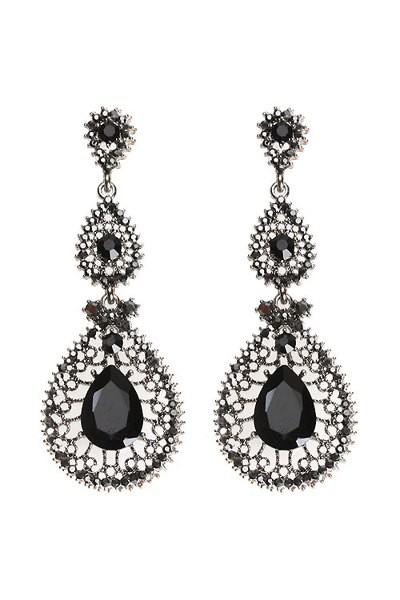 queen drop earring B(16)