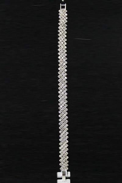 rhinestone chain bracelet 2 (5)