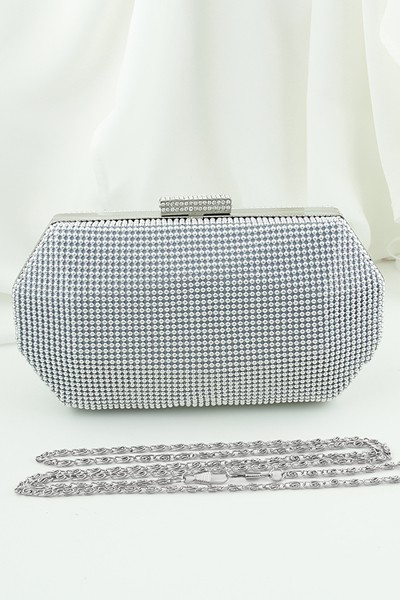silver beaded clutch (50)