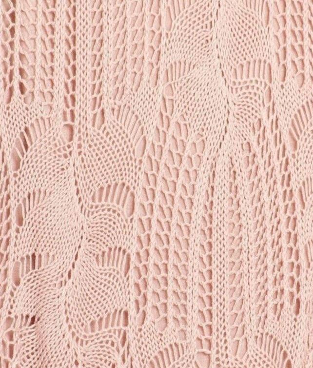 Blush Crochet Top Detail