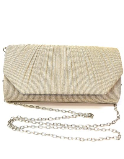 beige purse front