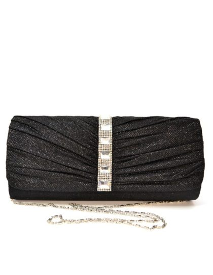 black clutch front