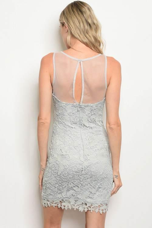 grey dress B