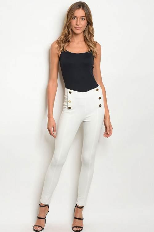 ivory pants F