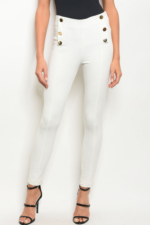 ivory pants only F