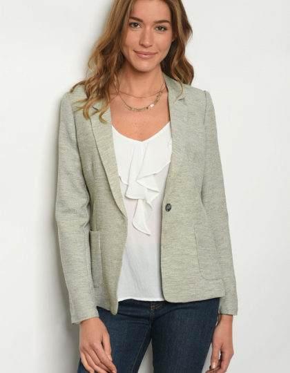 olive jacket F