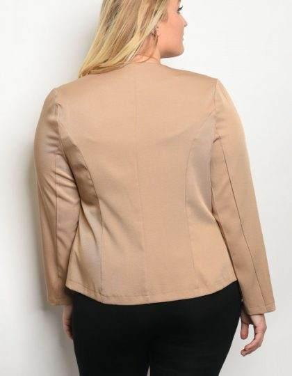 tan jacket B