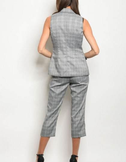 vest and pants B