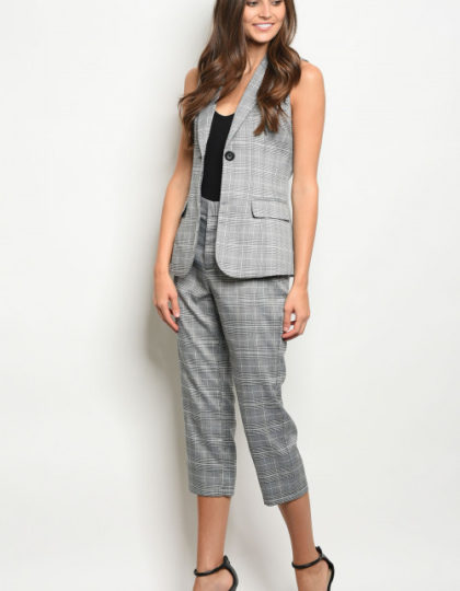 vest and pants F