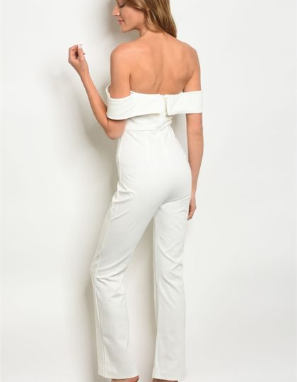 off shoulder jumpsuit B