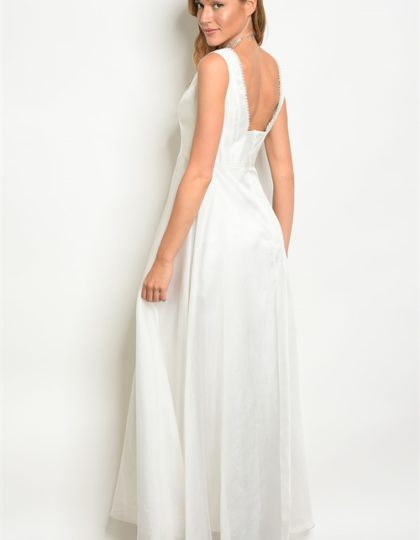 pearl white gown B