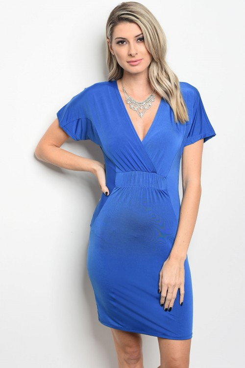 royal blue dress F