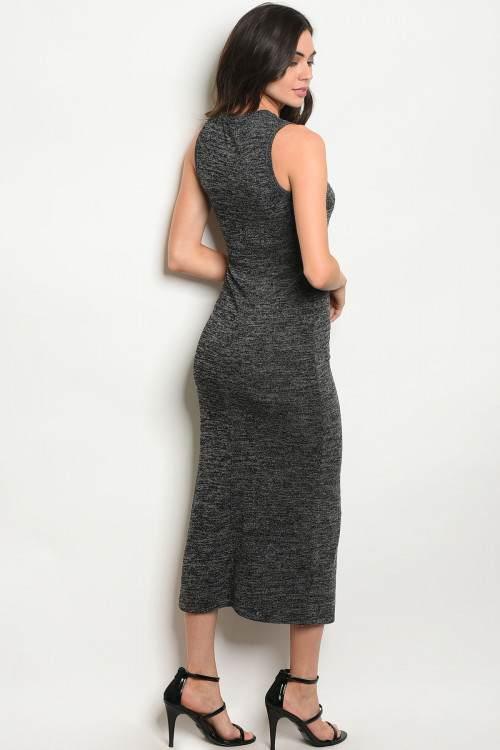 charcoal dress B