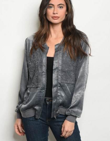 grey jacket F