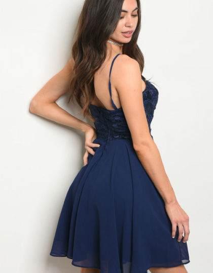navy dress B