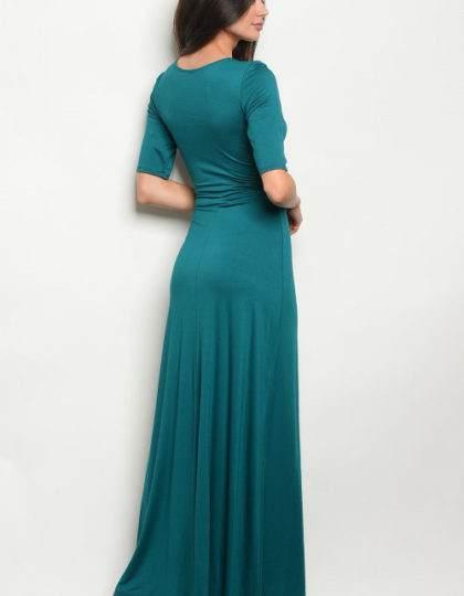 teal dress B