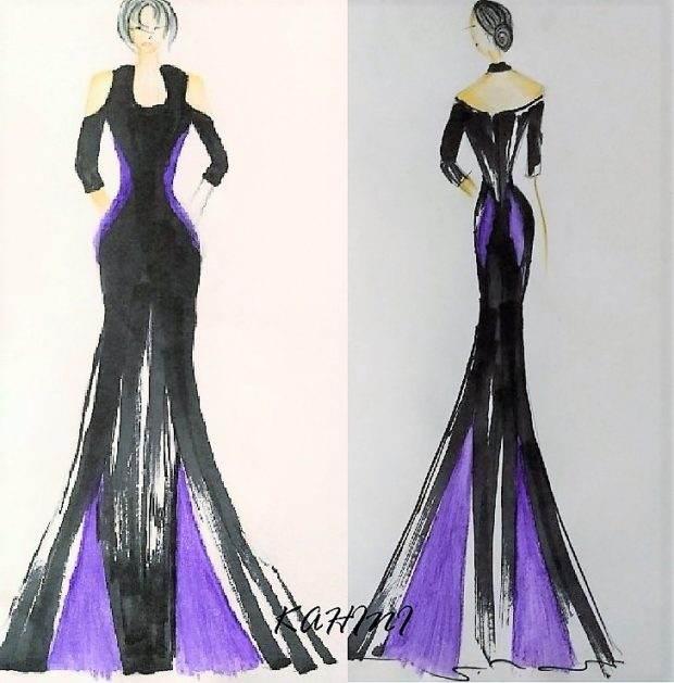 CUSTOM Mother of the bride long formal designer dress bellevue seattle
