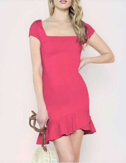 Fuchsia Cocktail Dress
