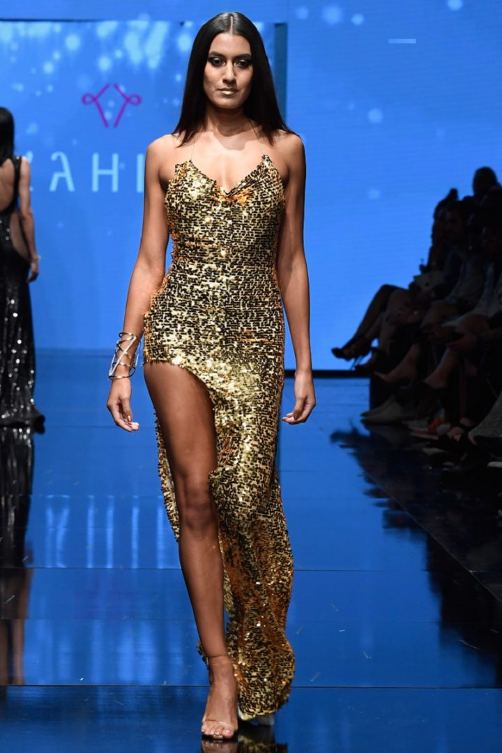 gold sequin couture long dress party promdress