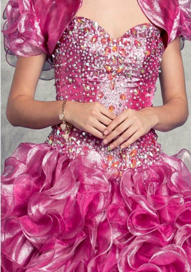 pink quincea front