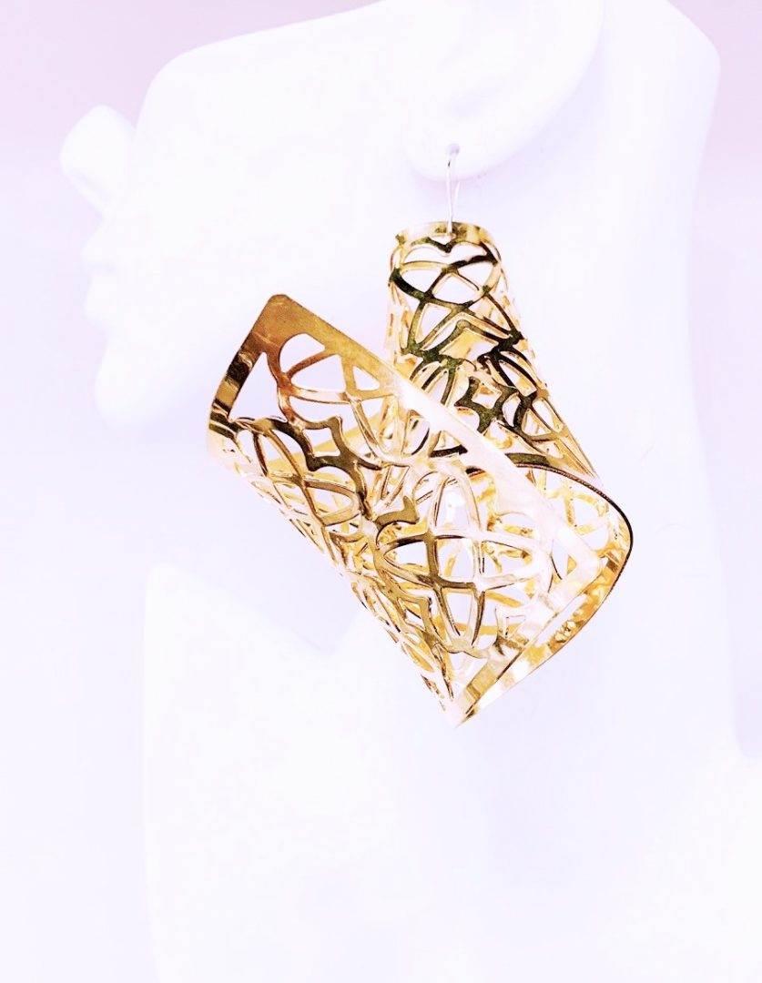 designer gold earrings jewelry