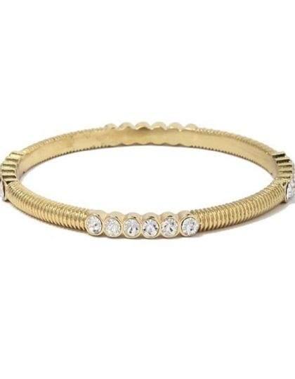 gold rhinestone bracelet